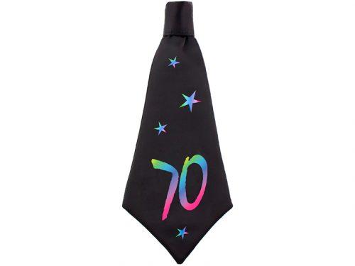 Corbata de cumpleaños 70
