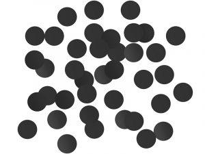 Confeti Circulo Negro