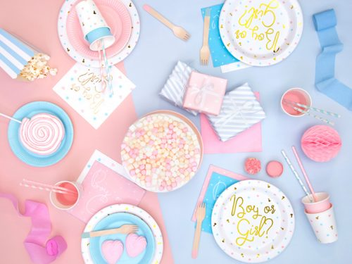 Cubiertos de Madera para Fiestas rosa claro 16 cm
