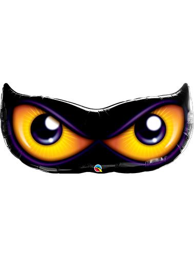 Globo metálico ojos de gato