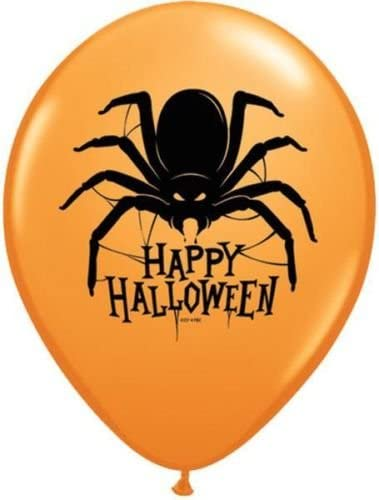 Globo látex araña Halloween