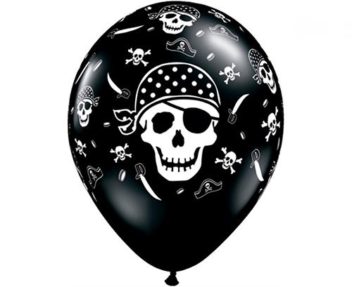 Globo Pirata calavera